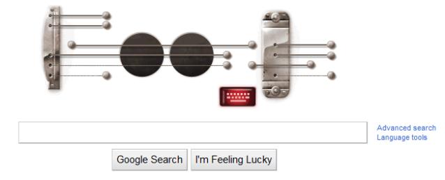 Google -Les Paul- Doodle