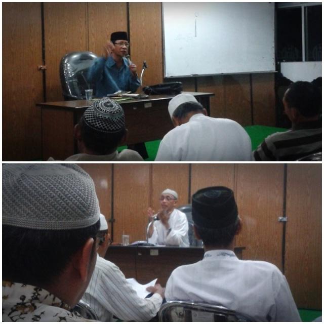foto atas Drs. H. nadjih Ihsan, foto bawah H. Agung Cahyadi, Lc, M.Ag