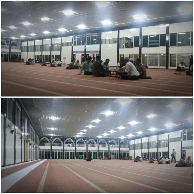 suasana masjid Al Falah